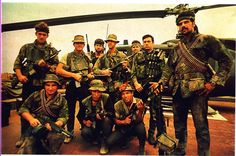 Navy SEALs, Foxtrott platoon, ST-1, Sea Float, 1970. ~ Vietnam War