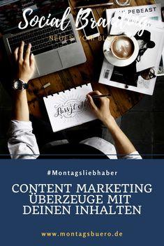Content Marketing ist längst keine Modeerscheinung mehr. Es geht um so viel mehr als nur das reine Erstellen von Inhalten. Guter Content bildet die Grundlage, dein Unternehmen und Angebot erfolgreich zu vermarkten.  Es geht darum, verschiedene Social Media Kanäle oder Blogs gezielt einzusetzen und eine übergreifende Marketingstrategie zu entwickeln. #ContentMarketing #OnlineMarketing #SocialMedia #Markenaufbau #Branding #Content Instagram Feed, Instagram Story, Influencer, Content Marketing, Tricks, Blog, Cards Against Humanity, Branding, Business