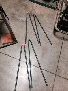 DIY hairpin legs