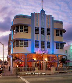 Marlin Hotel, Miami Beach, Florida - Quintessential Miami Beach art deco