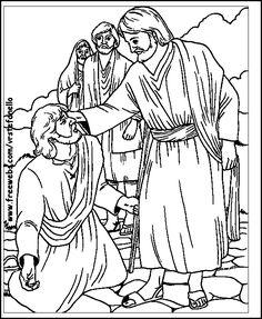 Presentación de la Historia del ciego Bartimeo . A continuación tenéis dibujos para colorear  de Bartimeo que recibió un milagro de Jesús re...