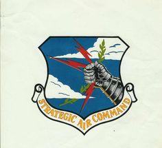 The Strategic Air Command Crest