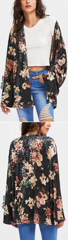 30 Trending Outfits That Always Look Fantastic - Global Outfit Experts Boho Outfits, Casual Outfits, Fashion Outfits, Gypsy Style, My Style, Boho Style, Kimono Coat, Luanna, Sweaters And Jeans