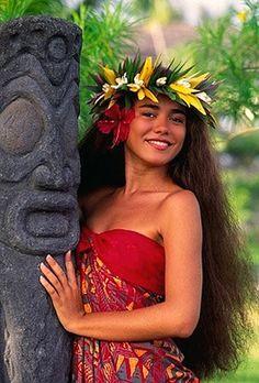 polynesian smile