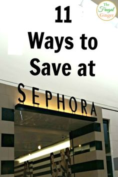 Get excited beauty junkies! Your wallet will thank you with these Sephora money saving tips!