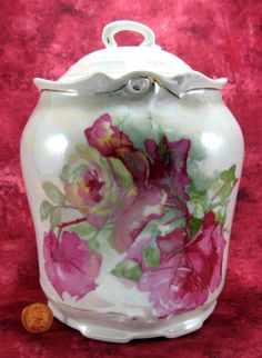 Porcelain Biscuit Jar