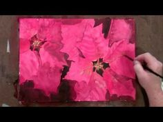 How To Paint Christmas Cards With Watercolor - YouTube