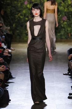 Didit Fashion Show Couture Collection Spring Summer 2014 in Paris #brown