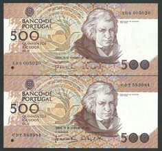 #Forsale Portuguese 500 Escudos Banknotes: Different Dates (1987-1992) And Different Signatures  http://www.kollectbox.com/explore#/item/profile/56ae5175bf25d2fd0e5c79f9  #marketplace for #banknote #collectors #papermoney #buybanknotes #banknotesforsale #sellbanknotes #papermoneyforsale #sellpapermoney #buypapermoney #Portugal
