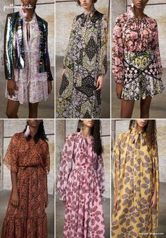 Milan Catwalk Print & Pattern Highlights – Spring/Summer 2018 Ready-to-Wear Colour Combinations Fashion, Fashion Colours, Fashion 2018, Womens Fashion, Milan Fashion, Victoria Secret Fashion Show, Hipster Fashion, Fashion Prints, Instagram Fashion