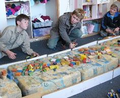 Good ideas for ww1 studies- build cannons out of legos to fight trench warfare -homeschool history