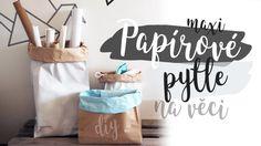 Papírové pytle na věci | DIY