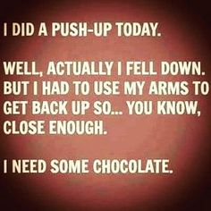 Quotes About Working Out (or Rather, NOT Working Out) Hilarious quotes that might help you laugh your way to a workout.Hilarious quotes that might help you laugh your way to a workout. Dump A Day, Work Quotes, Life Quotes, Life Sayings, Fun Quotes, Random Quotes, Reality Quotes, Daily Quotes, Success Quotes