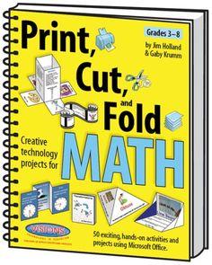 Print, knip en vouw opdrachten voor rekenen