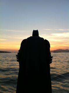 The Dark Knight By Sunset…