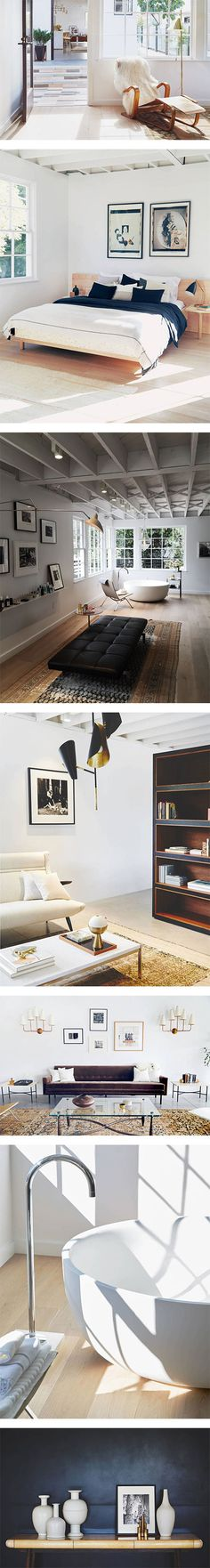 The Apartment by The Line on Nuji.com #thelineapartment #losangeles #homedecor