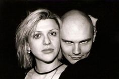 Courtney Love and Billy Corgan