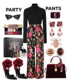 """""""#PolyPresents: Fancy Pants"""" by ellenfischerbeauty ❤ liked on Polyvore featuring Khaite, Dolce&Gabbana, Anyallerie, Kate Spade, Miu Miu, Kendra Scott and Yves Saint Laurent"""