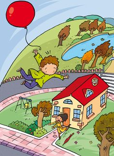 Yo-yo phonics 3 and 6 by Alins ilustración, via Behance Writing Prompts For Kids, Picture Writing Prompts, English Reading, English Book, Communication Orale, Picture Comprehension, Perspective Drawing Lessons, Picture Composition, Picture Puzzles