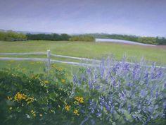 "Eileen Serwer. ""Summer in Bloom"" Solo show at Geary Gallery, June 1-30, 2015."