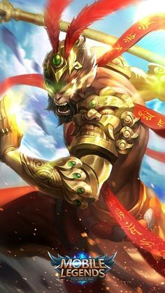 Wallpaper Sun Battle Budha Skin Mobile Legends HD for Android and iOS Mobile Legend Wallpaper, Hero Wallpaper, Hero Fighter, Alucard Mobile Legends, Moba Legends, Legend Images, The Legend Of Heroes, Journey To The West, Best Hero