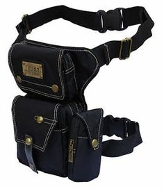 Drop Leg bag Motorcycle Dirt Bike Cycling Thigh Pack Waist Belt C Style | eBay