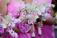 Real Wedding: Jennice & John: This couple celebrated their Southern ties with an over-the-top pink wedding.