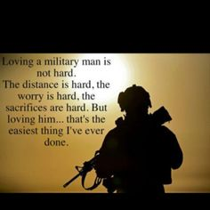 Military wife all the way! Maybe hard but his love is worth it :)