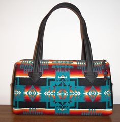 Pendleton Wool Purse Handbag Shoulder Bag Black by timberlineltd, $90.00