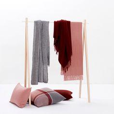 Elvang Classic #Throw Rosa #pink #urban #scandi #lookbook #SS14 #interiordesign