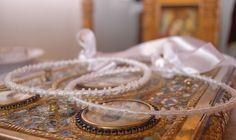 Traditional Greek wedding crowns
