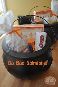 Fun Halloween Prank - Go Boo Someone | Tween Crafts - Connecting Mom and Daughter through crafting