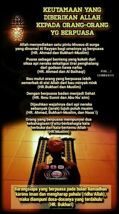 Puasa Ramadhan Quotes, Doa, Islamic Quotes, Muslim, My Life, Spirituality, Iphone, Wallpaper, Poster