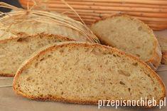 Chleb pszenno-żytni na zakwasie - przepisnachleb.pl Bread Baking, Banana Bread, Cookies, Desserts, Guilty Pleasure, Cupcake, Facebook, Brot, Baking