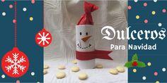 Dulceros para Navidad # Ya se acerca la Navidad, nos queda una semana para disfrutar de la familia y amigos... donde los niños también son protagonistas. Hoy os traigo una manualidad bien fácil para dársela a los niños en ... »