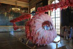 Una intervención (injustificable) de J. Vasconcelos en el Palacio de Versalles.