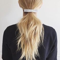 idees coiffures queue de cheval ponytail kristin ess instagram 6