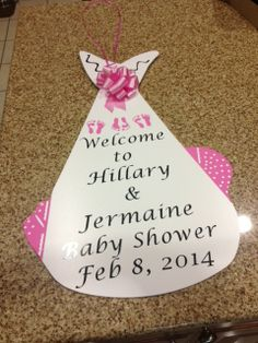 Baby Shower Door Keepsake Burbank, CA Sassy Storks of SoCal 626 674-6979
