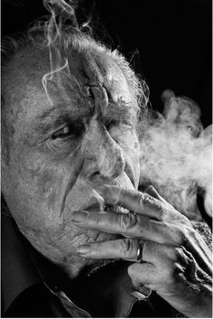 each man's hell is in a different place:mine is just up and behindmy ruined face. ~Charles Bukowski  ©Gottfried Helnwein