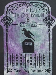 Spooky designs to cross stitch for Halloween
