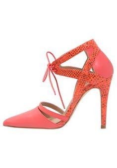 High heels Miss Selfridge GOLDING - Veterpumps - coral Coraal: € 47,96 Bij Zalando (op 15-6-15). Gratis bezorging & retournering, snelle levering en veilig betalen!