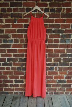 Umgee USA Grapefruit Maxi Dress $41.50 Hey Helen #shopheyhelen