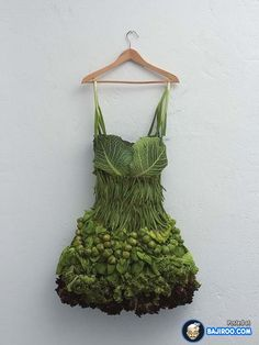24 Amazing Food Art Pictures #food_art #food art I WOULD TOTALLY WEAR THIS AT SCHOOL!!