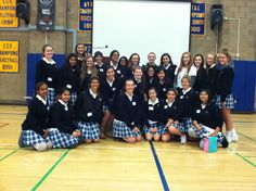 """Jen met an inspiring """"army of activists"""" today in San Jose, CA at Presentation High School #MissRep"""