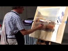 David Taylor watercolour painting in China part 2 - YouTube