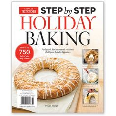 America's Test Kitchen Step-by-Step Holiday Baking 2015 - New Releases