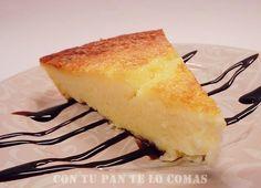 Pastel de yogur y queso