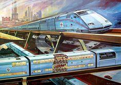 german monorail concept