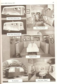 The year is 1937, and travel trailers are all the rage!