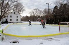 How to build a backyard ice rink pinterest backyard ice rink skate through winter by building your own backyard ice rink solutioingenieria Images